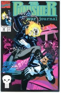 PUNISHER WAR JOURNAL #28 29 30 31, NM, Ghost Rider, Texeira, 1988, more in store