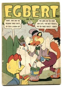 Egbert #19 1950-Golden Age Funny Animals G/VG