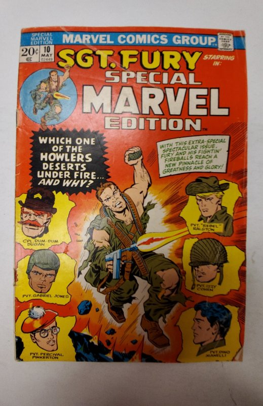 Special Marvel Edition #10 (1973) NM Marvel Comic Book J667