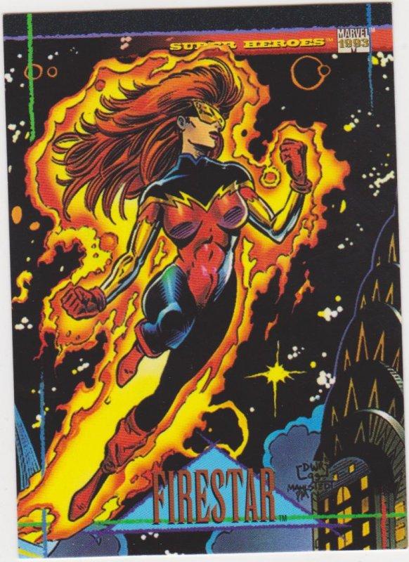 1993 Marvel Universe #20 Firestar