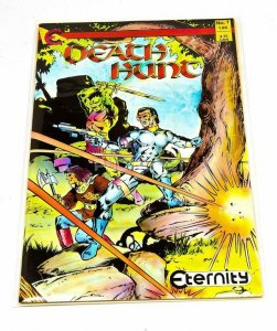 DEATH HUNT #1, VF/NM, Scott Hanna, Eternity, 1987, more in store