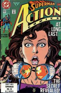 Action Comics #662 VF/NM; DC | save on shipping - details inside