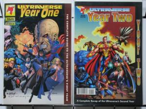 ULTRAVERSE YEAR ONE & TWO  set of both bookends!