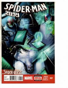 Lot Of 6 Spider-Man 2099 Marvel Comic Books # 7 8 9 10 11 12 NM 1st Prints J270