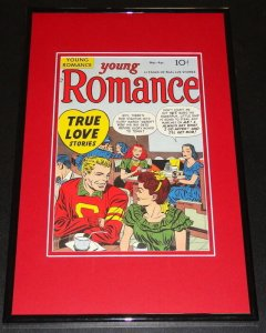 Young Romance Framed 11x17 Photo Display Official Repro Jack Kirby