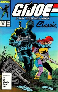 G.I. Joe, A Real American Hero #63 (3rd) GD; Marvel | low grade comic - save on