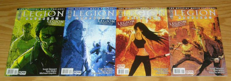 Legion: Prophets #1-4 VF/NM complete series - official movie prelude set 2 3
