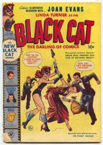 Black Cat #22 1950- Invisible Scarlet O'Neil- Gregory Peck g/vg
