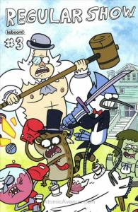 Regular Show #3A VF/NM; Boom!   save on shipping - details inside