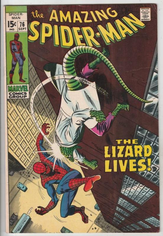 Amazing Spider-Man #76 (Sep-69) VF+ High-Grade Spider-Man