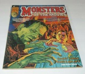 Monsters of the Movies #2 VF/VF+ High Grade 1974 Horror Magazine Frankenstein