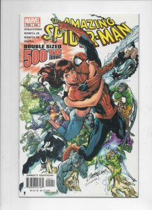 Amazing SPIDER-MAN #500, NM, Campbell, 1963 2003, Double sized, Villians