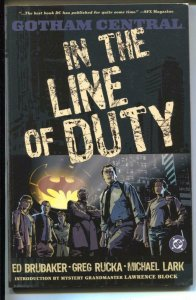 Gotham Central: In The Line Of Duty-#1-Ed Brubaker-TPB-trade