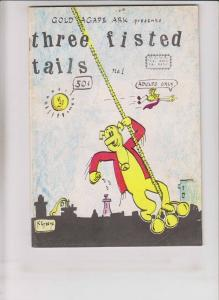 Three Fisted Tails #1 FN- (1st) print - underground comix - anthropomorphics