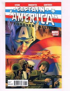 Captain America Forever Allies #1 Of 4 VF Marvel Comics Comic Book Stern DE15