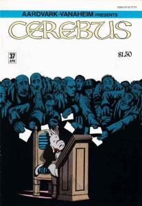 Cerebus the Aardvark #37 FN; Aardvark-Vanaheim | save on shipping - details insi