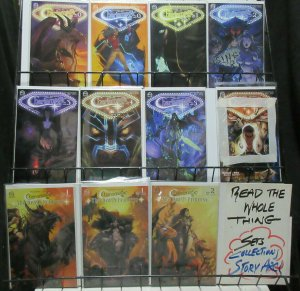 Charismagic Aspen Lot of 11Diff w Death Princess inc. Signed by Cover Artists!