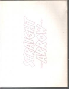 Straight Arrow Logo T-Shirt Iron On Transfer-date unknown-VG
