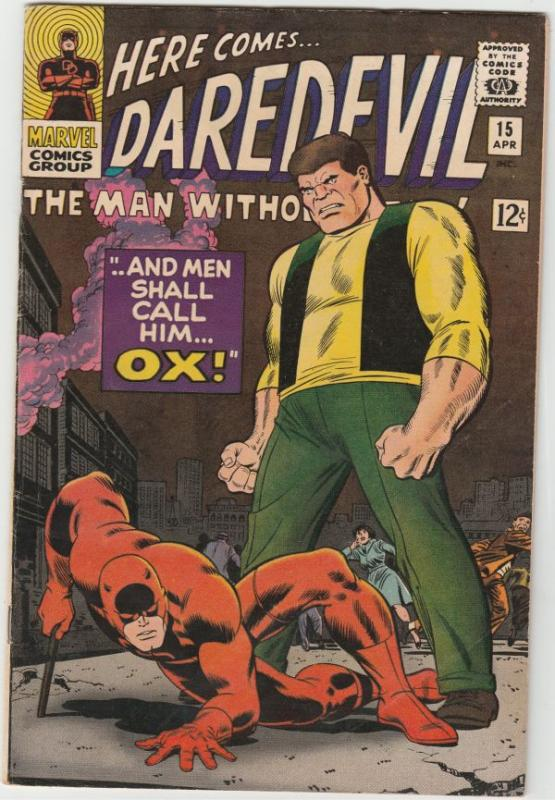 Daredevil #15 (Apr-66) VF High-Grade Daredevil