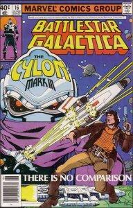 Marvel BATTLESTAR GALACTICA (1979 Series) #16 VF