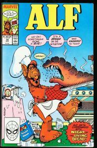 ALF #14-NBC-MARVEL COMICS-WEIRD COVER NM