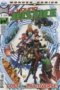 Young Justice (2019 series) #7, NM + (Stock photo)