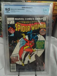 Spider-Woman #1 (1978) - CBCS 9.0 - 1st Solo Title - Newsstand Edition