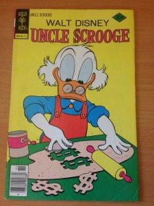 Walt Disney's Uncle Scrooge #146 ~ VERY FINE VF ~ 1977 Disney Comics