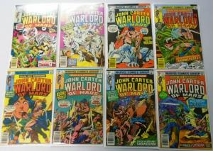 John Carter Warlord of Mars 25 Different, Set:#1-25+Annual#1-3, 6.0/FN (1977-79)