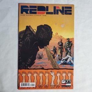Redline #1 Near Mint- Cover by Clayton McCormack