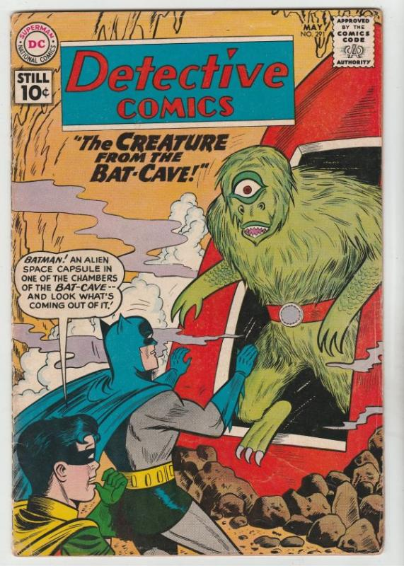 Detective Comics #291 (May-61) FN+ Mid-High-Grade Batman