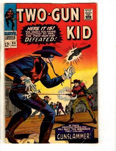Two-Gun Kid # 84 FN Marvel Comic Book Western Rawhide Kid Colt Gunslammer FH2