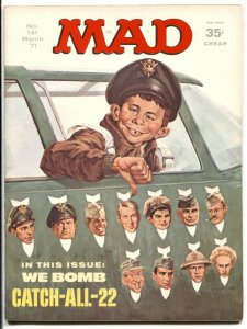 Mad Magazine #141 1971-Catch 22 parody cover VF