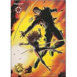 1993 Valiant Era HARBINGER #12 - Card #56