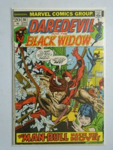 Daredevil and The Black Widow #95 (Detached Cover) 2.0 GD (1973)