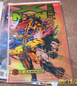 X Men Prime #1 Jul 1995, Marvel) chromium wraparound cover AOA APOCALYPSE
