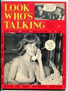 Look Who's Talking Magazine 1964- Joe Simon humor JFK Sinatra