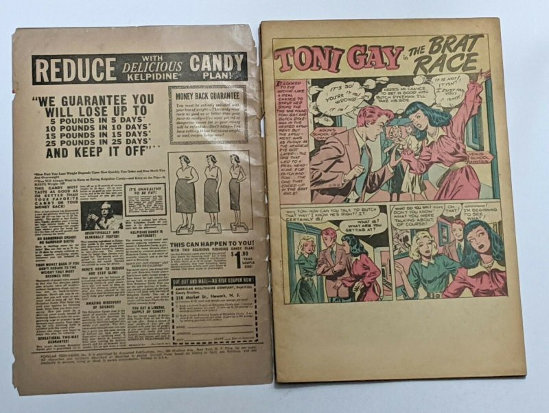 Popular Teen-agers #5 (1958, Accepted) Good- 1.8 L.B. Cole cvr Reprint of 1950