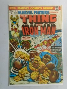 Marvel Feature #12 Thing and Iron Man 2.5 GD+ (1973 1st Series)