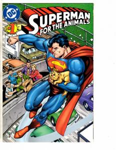 5 DC Comics Superman Animals Eradicator Direct Currents Armageddon Steel 1 J220
