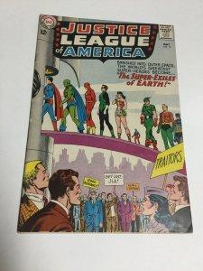 Justice League Of America 19 Fn Fine 6.0 DC Comics Silver Age
