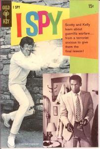 I SPY (1966-1968 GOLD KEY) 5 F-VF Cosby, Culp photocvr COMICS BOOK