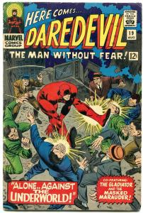 DAREDEVIL #19 1966-MARVEL-JOHN ROMITA ART VG