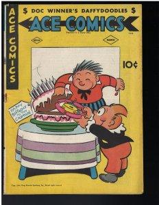 Ace Comics #105 (David McKay Publications, 1945) FN
