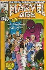 Marvel Age #54 FN; Marvel | save on shipping - details inside