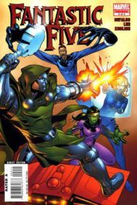 Fantastic Five (2007 series) #2, NM (Stock photo)