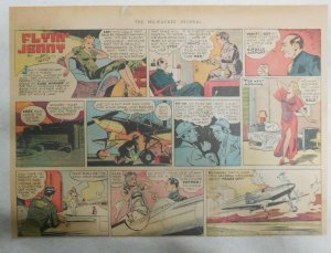 Flying Jenny Sunday Page #5 by Russell Keaton from 12/3/1939 Size 11 x 15 inch
