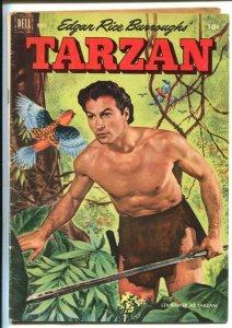 Tarzan #30 1952-Dell-Lex Barker photo cover-Jesse Marsh art-Edgar Rice Burrou...