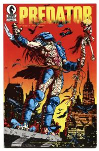 PREDATOR #1-1989-First issue comic book VF/NM