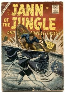 Jann of The Jungle  #14 1956- Atlas comics- VG-